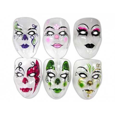 Masque Transparent Décoré Adulte