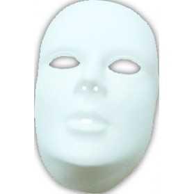 Masque Blanc luxe à décorer