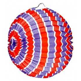 Lampion ballon pour déco du 14 juillet