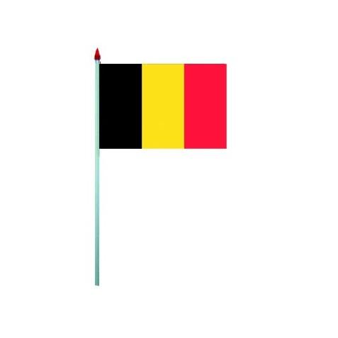 10 Drapeaux à agiter Belgique