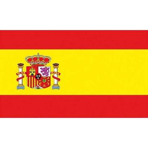 Drapeau Espagne avec œillets