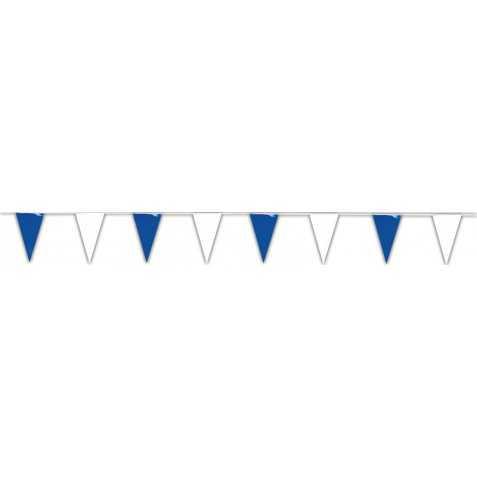 grande guirlande bleu et blanc pour fête de la mer