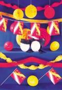 Kit de déco de fête à thème Alsace