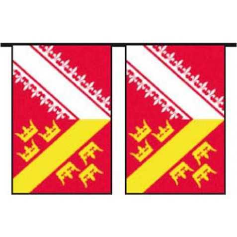 Guirlande de déco de fête Alsacienne