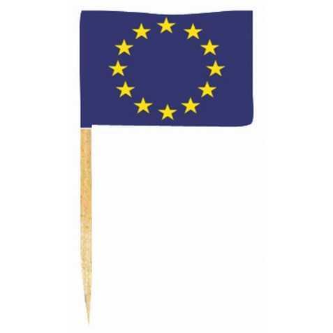 pic cocktail avec drapeau européen