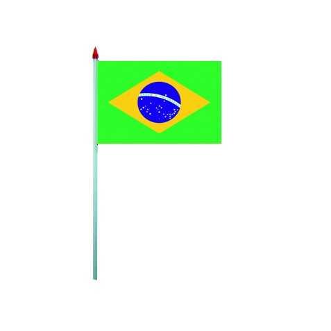 10 Drapeaux à agiter Brésil