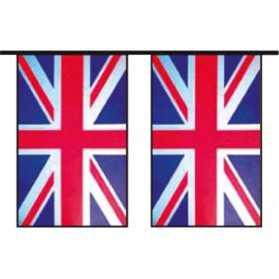 Grande Guirlande avec des drapeaux British Flag