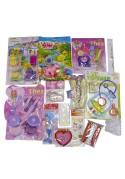 Kit Kermesse anniversaire Fille avec 15 Jouets