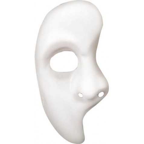 Loup demi-face Fantôme de l'Opéra
