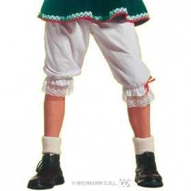 Panty blanc taille unique