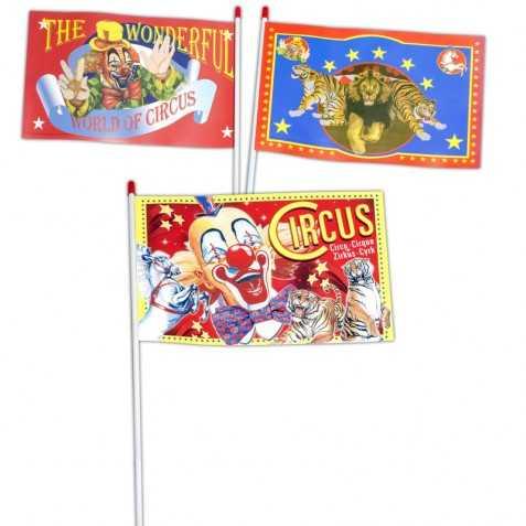 Drapeaux theme cirque