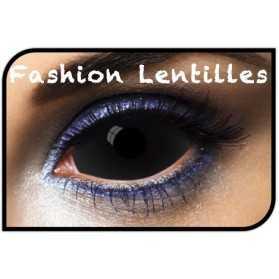 Lentilles intégrales pour avoir des yeux de Loup Garou
