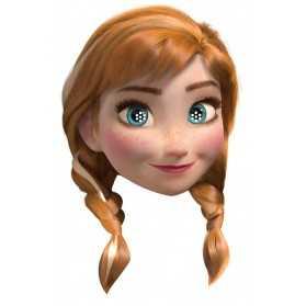 Masque Adulte Tête ANNA Reine des Neiges