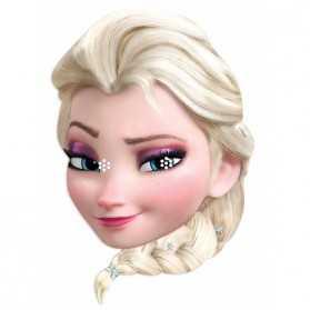 Masque Adulte Tête ELSA Reine des Neiges