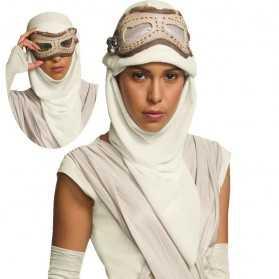 Masque et Capuche Adulte REY Star Wars