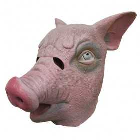 Masque Adulte en latex Cochon
