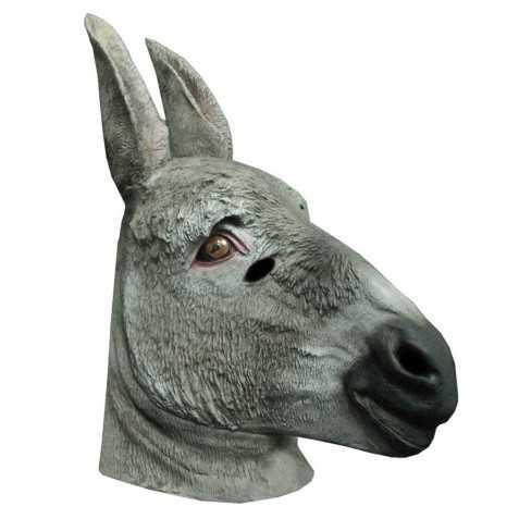 Masque Adulte en latex Ane