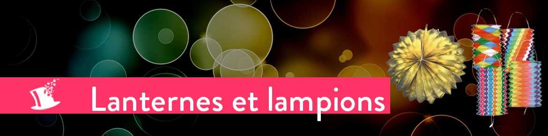 Lanterne et lampions