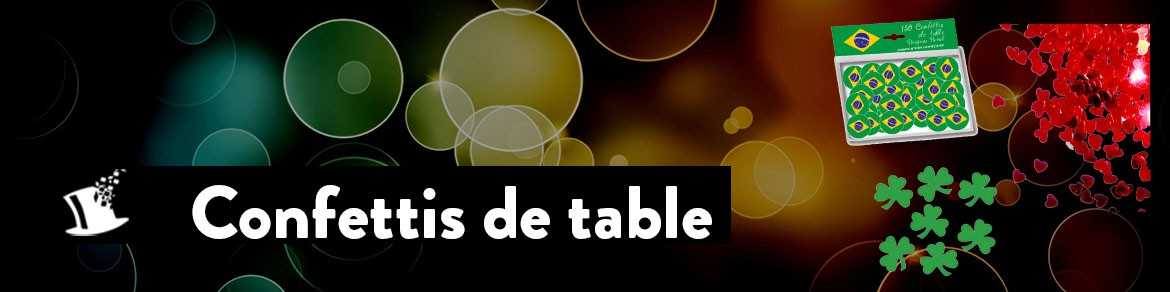 Confettis de table