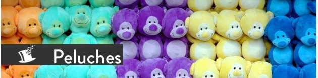 Peluches tombola