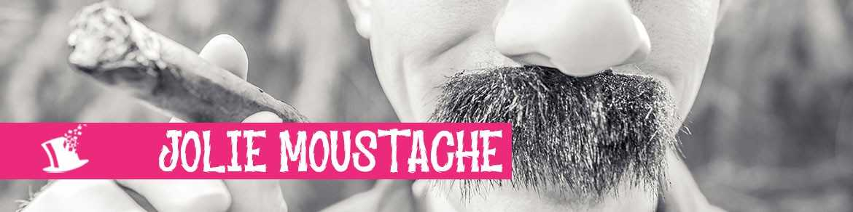 Jolie moustache !