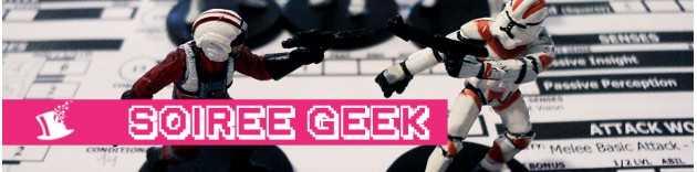 Soirée à thème Geek