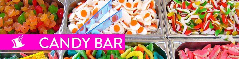 Confiserie candy bar
