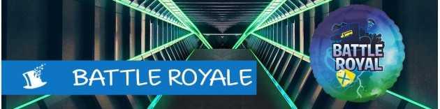 déco anniversaire Battle Royale