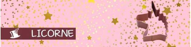 déco anniversaire Licorne