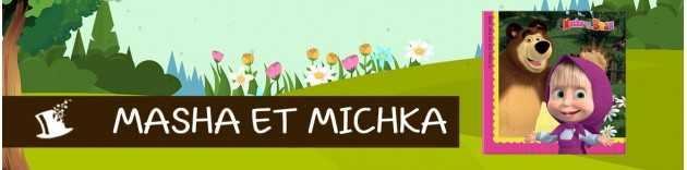 déco Anniversaire Masha et Michka